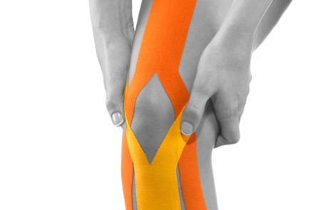 Tape Beispiel Knie